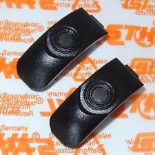 1138 Original 2x Stihl Spannklammer Clip für Filterdeckel Haube MS 441