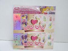 Disney Design A Tiara Princess Kit - Lot of  3 -- KIDS ARTS & CRAFTS