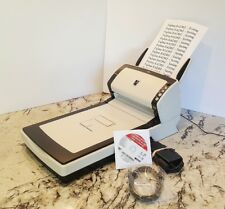 (Mint 1741 Counts up) Fujitsu fi6230Z Flatbed Scanner w/ AC Adapter+USB+DVD+Tray
