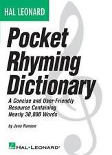 Hal Leonard Pocket Rhyming Dictionary: A Books
