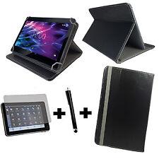 10.1 zoll Tablet Tasche + Folie+Stift Acer Iconia Tab 10 A3-A40 3in1 Schwarz 10