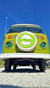 Volkswagen Beetle Bus Kombi Samba Vanagon Transporter Headlights Covers GREEN ..