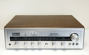 VINTAGE TRIO KENWOOD KR-2600 RECEIVER AMPLIFIER WITH PHONO - WORKING