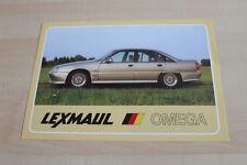 141781) Opel Omega A - Lexmaul - Prospekt 198?