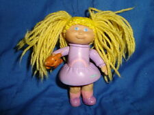 Cabbage Patch Kids PVC 1984 Figure W/Blonde String Hair