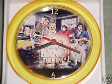 "BIG BANG THEORY Novelty Wall Clock 7"" NEW Design ""L@@K"""