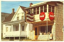 Masson Quebec Canada Restaurant Coca Cola Ice Cream Signs Postcard