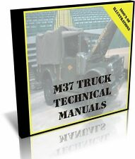 M37 Military Truck Technical Manuals