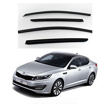 Smoke Window Vent Visors Rain Guards for 2011 - 2013 Kia Optima (K5)
