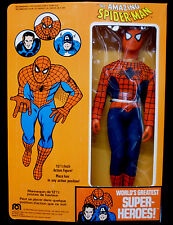 Mego Amazing Spider-man Marvel Comics 12 1/2 Inch 1977 New Mint Action Figure
