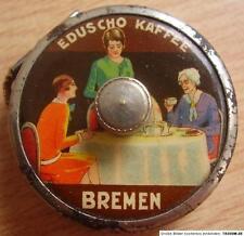 Antikes Eduscho Werbe Bandmaß vor 1945