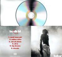 BAKAR Badkid Sampler 2018 UK 5-trk promo test CD