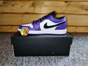 Nike Air Jordan 1 Low | Court Purple | EU42.5 | Neu