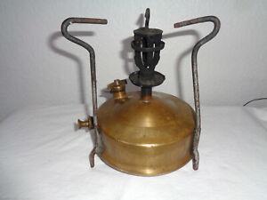 Juwel antiker Petroleumkocher / Petroleumbrenner / Benzinkocher G&B