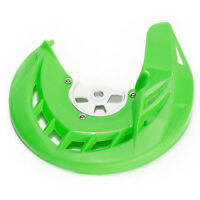 Front Brake Disc Guard Cover W/ Mount Kit For Kawasaki KLX125 KLX150S KLX250
