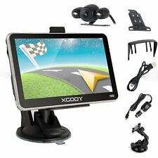 XGODY 5'' GPS Car Navigation System Bluetooth 8GB ROM with Reverse Backup Camera