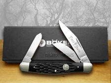 BOKER TREE BRAND Jigged Black Bone Stockman Pocket Knife 110725 Knives