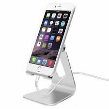 Adjustable Aluminum Cell Phone / Tablet Stand, Cradle, Dock, Holder for iPhone