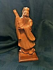 Chinese Cultural Revolution Era Carved Boxwood Figure