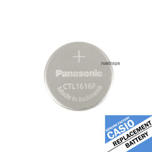 Panasonic CTL1616F CTL1616 rechargeable battery for Casio solar watches