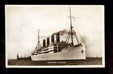 LS1843 - Union Castle Liner - Arundel Castle - postcard