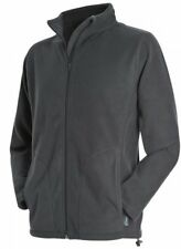 Stedman Active Men Adults Long Sleeve Outerwear Full Front Zip Polar Fleece Top