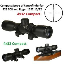 FieldSport Tactical 4X32 Compact Scope For Ruger 1022 10/22 With Weaver Ring