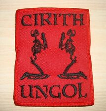 CIRITH UNGOL  - LOGO Embroidered PATCH  Manilla Road Omen