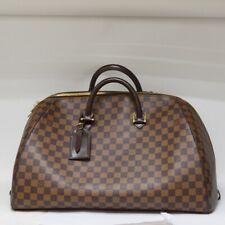 Louis Vuitton Boston Bag N41432 RIVERA GM Browns Damier 1401821 F/S FEDEX ERMI