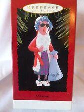 Hallmark 1993 Maxine Ornament - Nib, B3