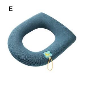 Bathroom Toilet Seat Closestool Washable Soft Warmer Mat Cover Pad Cushion Tool