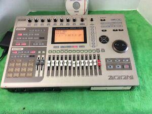 Zoom MRS-1608 Digital 16 Track Recorder Bass Drum Sampler Works Great