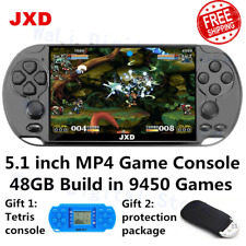 JXD 5.1 inch retro video game console 48GB build in 9450 games for aracde