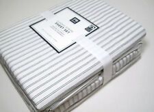 Pottery Barn Teen Multi Colors Classic Stripe Cotton Full Sheet Set New