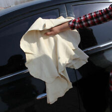 1Pcs Natural Chamois Leather Car Cleaning Cloth Washing Suede Absorbent Towel