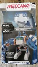 Meccano-Erector - Micronoid - Blue Basher, Programmable Robot Building Kit
