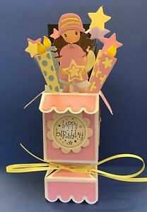 A POP UP BIRTHDAY CARD FOR A LITTLE GIRL