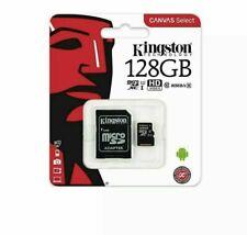 KINGSTON 16GB 32GB 64GB 128GB adaptador de lona seleccionar tarjeta Micro SD clase 10 100MB