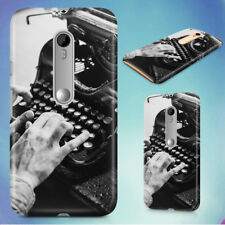 BLACK AND WHITE BLUR FINGERS HARD BACK CASE FOR MOTOROLA PHONES