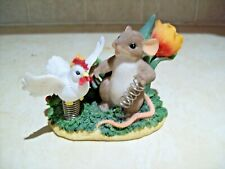 """Charming Tails """"You Have Me Feeling Like A Spring Chicken"""" Figurine 88/138"""