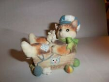 """Calico Kittens Enesco """"Always Paws For Playtime"""""""