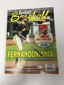 May 2021 Beckett Baseball Price Guide Magazine Vol 21 No 5 Fernando Tatis