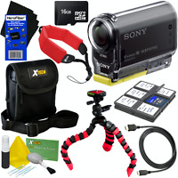 Sony HDR-AS20 Action Video Camera with Built-in Wi-Fi, NFC and Full HD 1080p