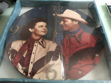 Roy Rogers And Dale evans Wall Clock Collectable New