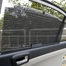 Auto Car Retractable Curtain Side Window Shade Windshield Sun Shield Visor Black