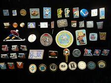 Set of 53 USSR  Ice Hockey Club  World Cup Spartak Dynamo Badge