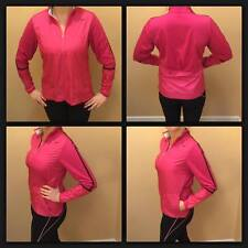 NEW Large Womens Nike Golf Jacket 1/2 Zip Up Pink Wind Resistant Track Work Out