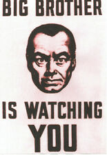 1984 POSTER. George Orwell, Big Brother.