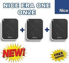 3 X Nice ON2E, 3 Stück Nice ERA ONE 2-kanal Handsenders, Neue Version von ON2