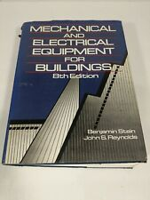 Mechanical and Electrical Equipment for Buildings Hardcover John S. Reynolds